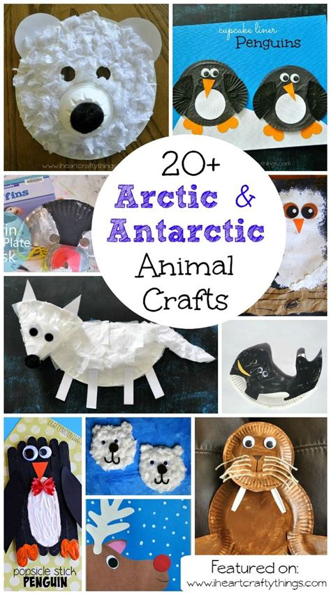 arctic crafts for 20 arctic antarctic animal crafts for animal