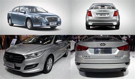 Running Head Lamps by New Faw B50 Another Chinese Car That Needs A Pakistan