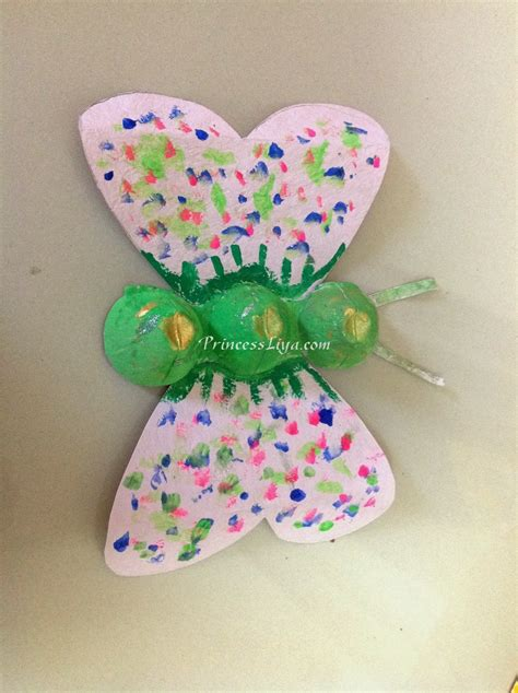 egg craft for with liya and zain egg recycling craft ideas