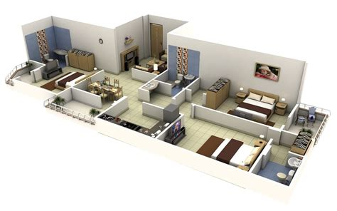 3 bedroom house plans 3 bedroom apartment house plans