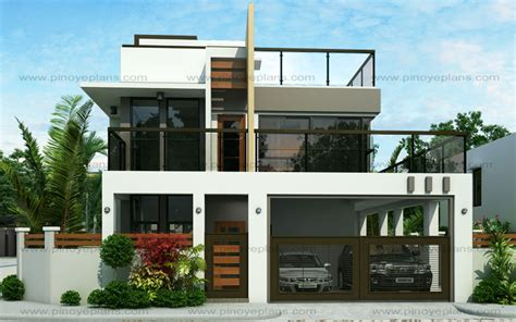 two storey house design and floor plan ester four bedroom two story modern house design