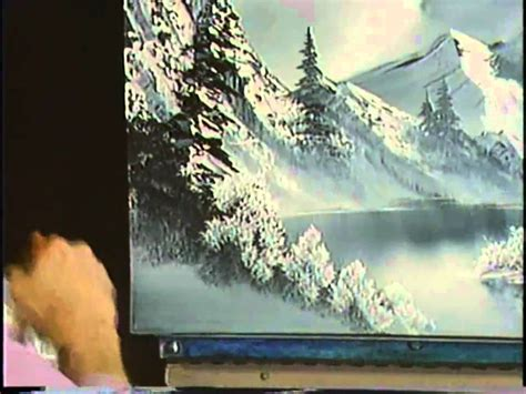 bob ross painting winter bob ross the of painting a cold winter