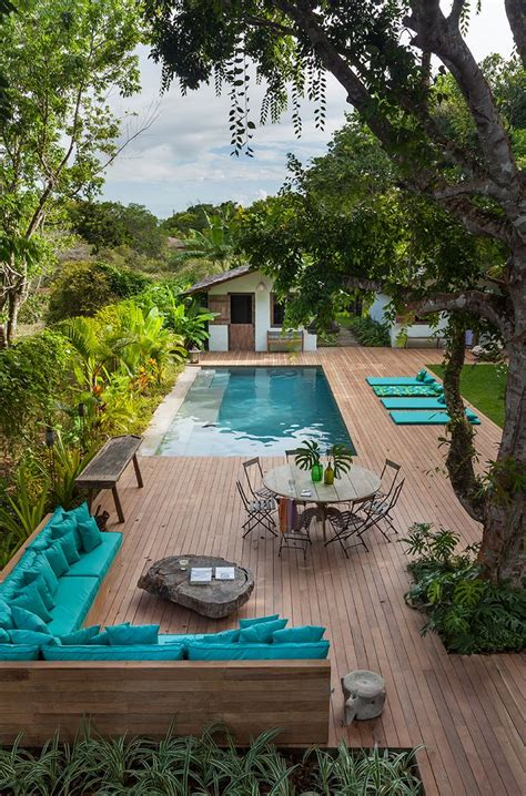 pool garden ideas 25 best ideas about swimming pool landscaping on
