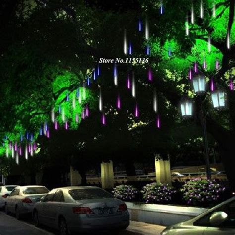 hanging tree lights 30 50cm led meteor light led l lights