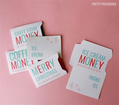 who makes gift cards 10 diy printable gift card holder ideas that make gifts