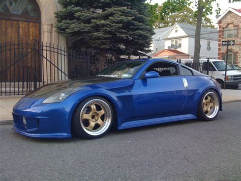 Blue Car Gold Wheels by Blue 350z Gold Rims Www Pixshark Images Galleries
