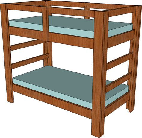 build bunk bed build a bunk bed jays custom creations