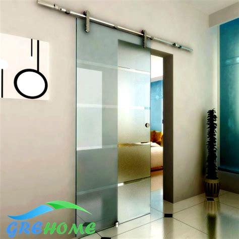 sliding glass barn door hardware 6 6ft barn glass sliding doors hardware in doors from home