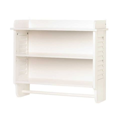 white bathroom shelves towel shelf rack unit offering infinite possibilities