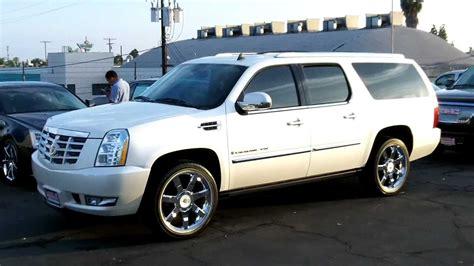 2008 Cadillac Escalade Truck by Cadillac Escalade Truck White Image 128