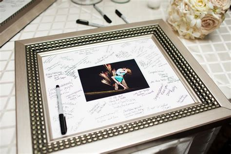 picture frame guest book 23 wedding guest book frame significant events of