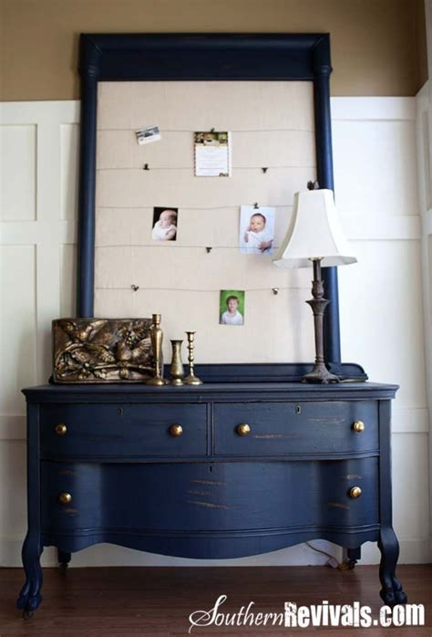 chalk paint navy 1000 images about dresser on furniture