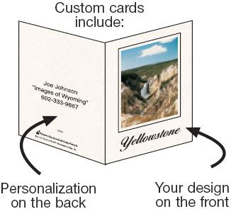 make custom greeting cards photographer s edge