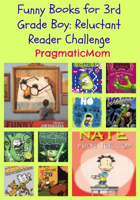 picture books for third graders books for 3rd grade boy reluctant reader challenge
