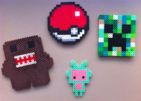 perle bead my perler bead creations by onlyoliveoil on deviantart