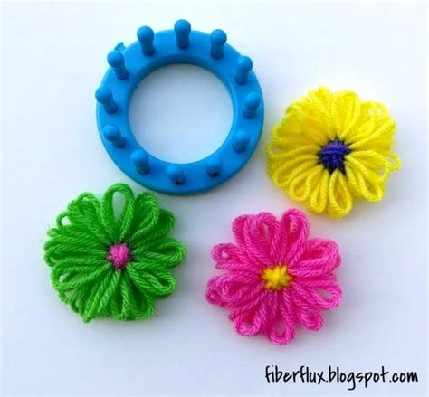 how to knit a flower on a loom 17 best ideas about a flower on free crochet