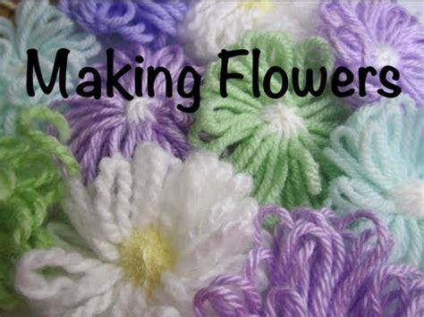 how to knit a flower on a loom how to make a flower on a loom