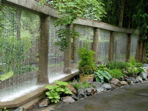 garden wall feature 54 garden water features awesome outdoor design ideas