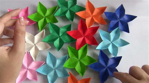 flor origami flor de origami my crafts and diy projects