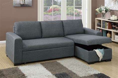 blue sectional sofa with chaise blue grey fabric storage chaise sectional sofa