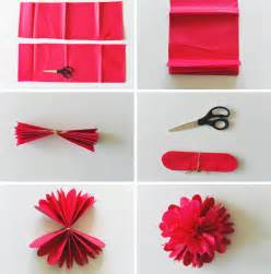 how to make a paper flower card diy tissue paper flower backdrop