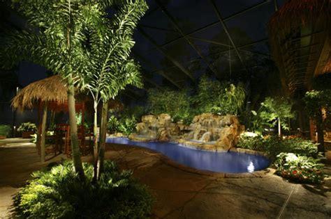 outdoor landscape lighting in orlando daytona fl illuminations usa