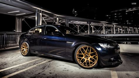 Car Rims Wallpaper by Golden Rims On A Bmw M3 With 51037 1920 215 1080 Cars