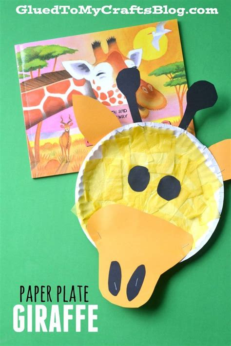 giraffe paper plate craft 1000 images about progetti da provare on