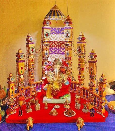 home decoration for ganesh festival 186 best ganpati decoration ideas images on