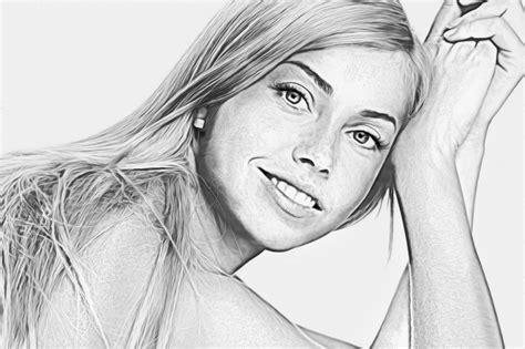 Portr 228 T Zeichnen Bzw Malen Lassen G 252 Nstig Portrait Haare Auf Fotos Bearbeiten