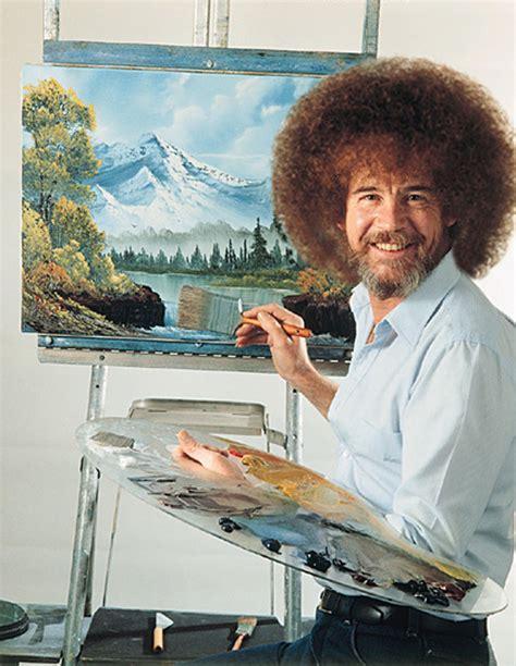 The Of Painting Bob Ross Gentlemanbeggar
