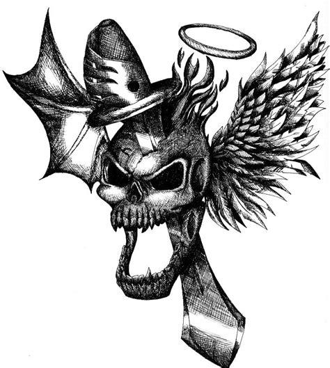 screaming skull shaded by anastas c on deviantart
