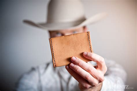 how to make a card wallet how to make a leather wallet mr lentz leather goods
