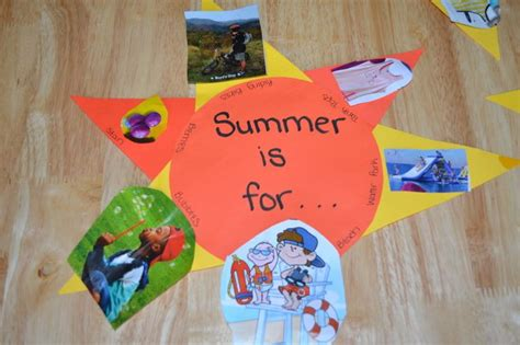 crafts for in the summer summer sun collage summer kid crafts