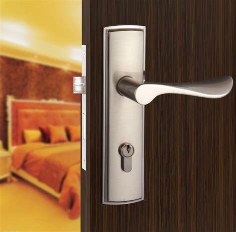 interior door handles for homes new aluminum material interior door lock living room bedroom bathroom door handle lock free