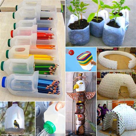 craft from waste for craft use of waste bottle