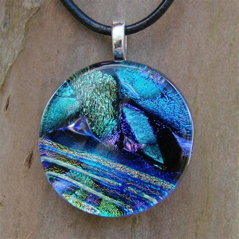 how to make glass jewelry pendants blue fused glass pendant by fusedelegance on deviantart