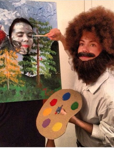 Winner Of Best S Costume Bob Ross And His