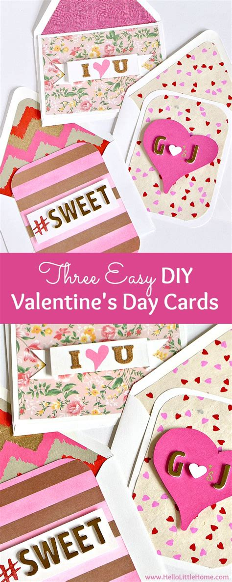 make valentines day card 3 easy diy s day cards