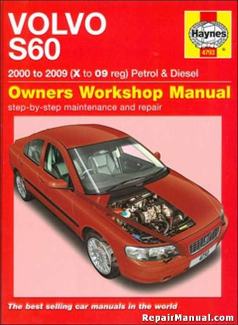 what is the best auto repair manual 2000 chrysler sebring electronic toll collection volvo s60 auto gasoline diesel 2000 2009 haynes repair manual