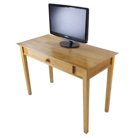 solid wood computer desk metro studio solid wood computer desk in honey pine 99042