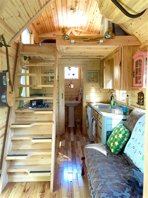 tiny home interiors nicki s colorful tiny house after one year