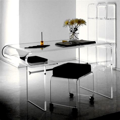 lucite office desk 1 contemporary furniture 174 product page