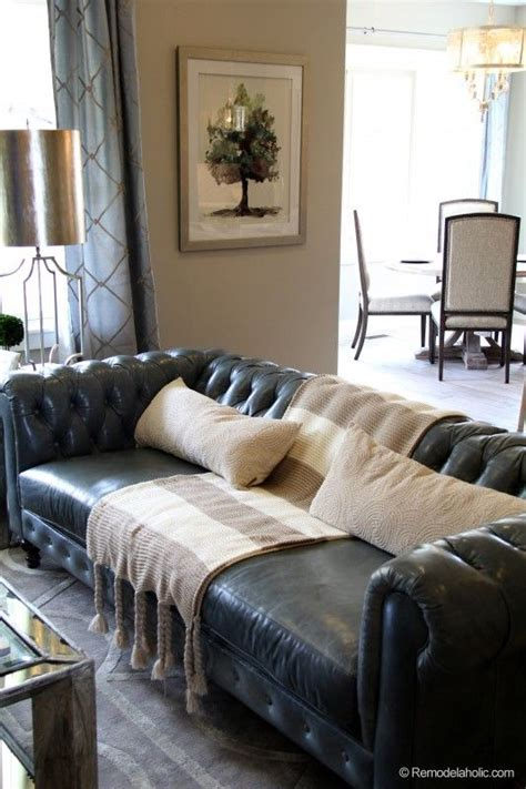 living room decor with black leather sofa best 25 leather couches ideas on leather