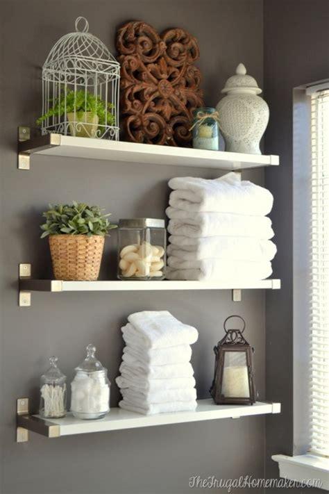 shelves for small bathroom 17 diy space saving bathroom shelves and storage ideas