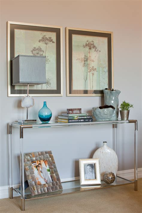 console table decor stunning decorative console tables decorating ideas images