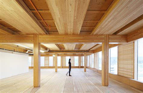 woodwork construction wood building and self supported steel structure win