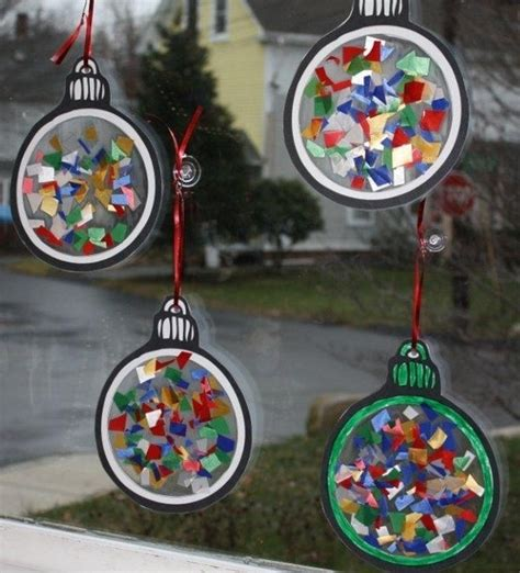 contact paper craft store ornament sun catcher craft