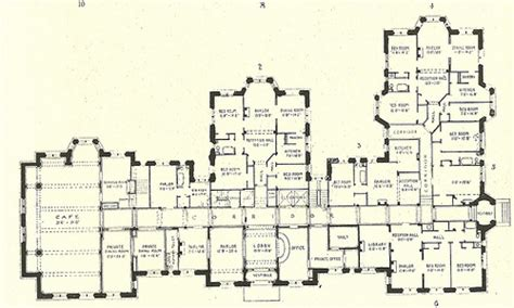 historic house plans luxury mansion floor plans historic mansion floor plans