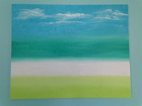 acrylic paint on canvas paper acrylic painting tissue paper underlay reinstonz